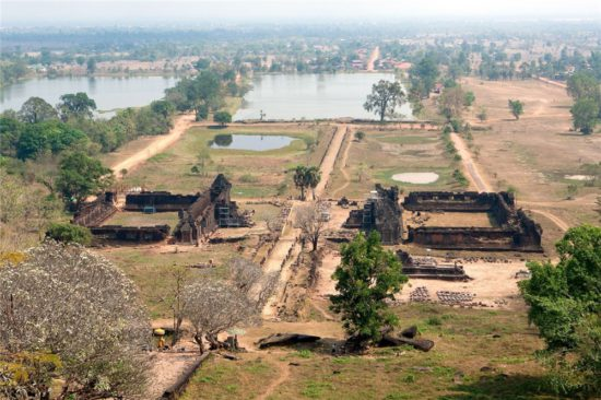 руины Ват Пху
