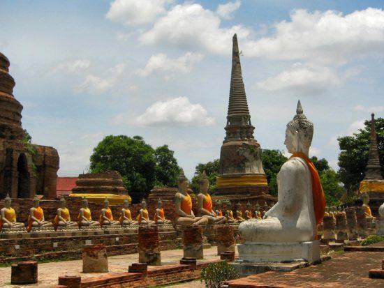 Древнее поселение в Тайланде