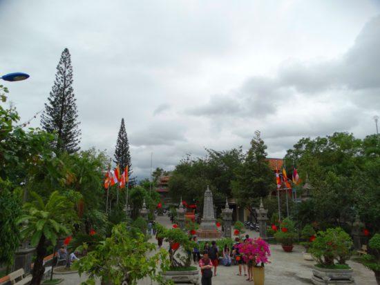 Сад вокруг пагоды