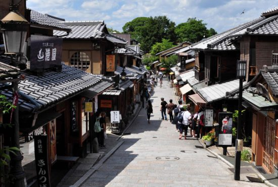 японская улочка