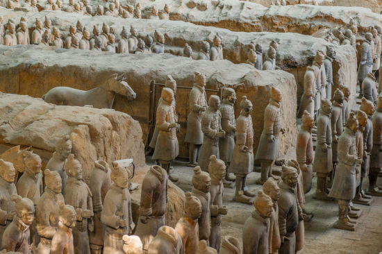 Скульптуры Китая