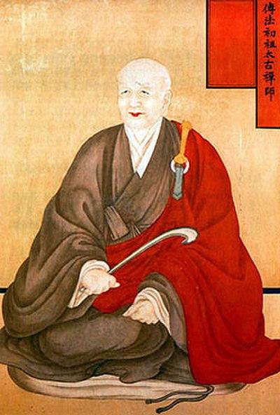монах корейский