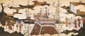 древняя японская живопись