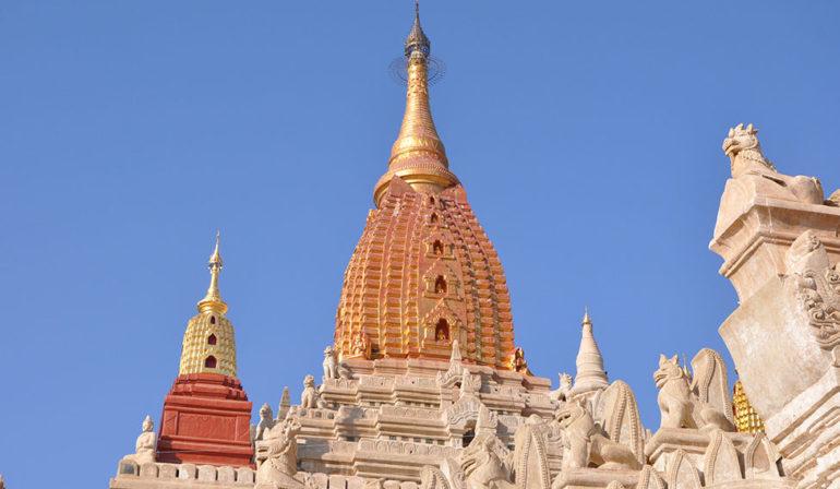верхушка храма