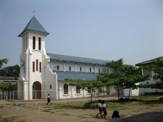 Католическая церковь в Лаосе