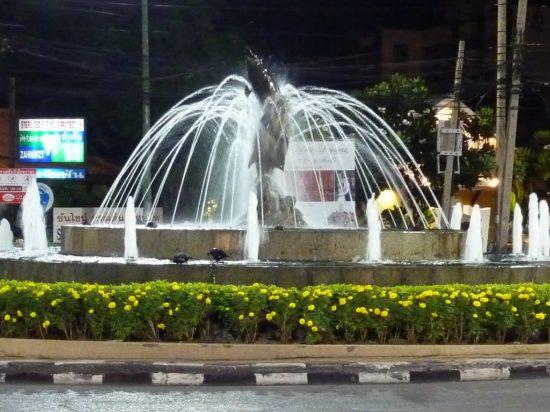 фонтан в Тайланде