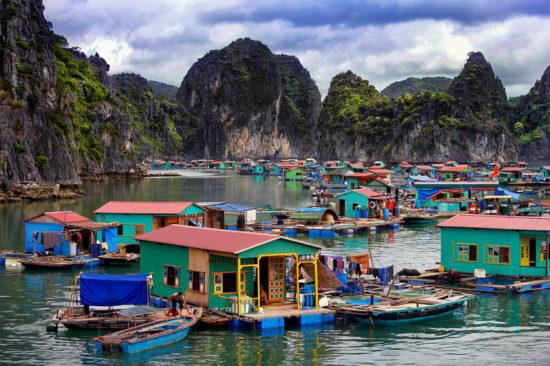 деревни на сваях
