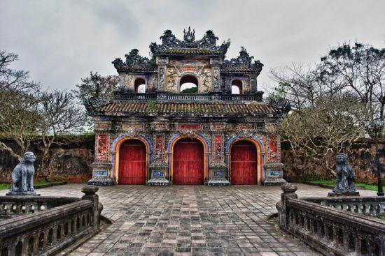Древний город во Вьетнампе