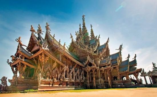 деревянный монастырь