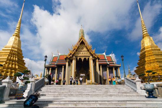 Храм в Азии