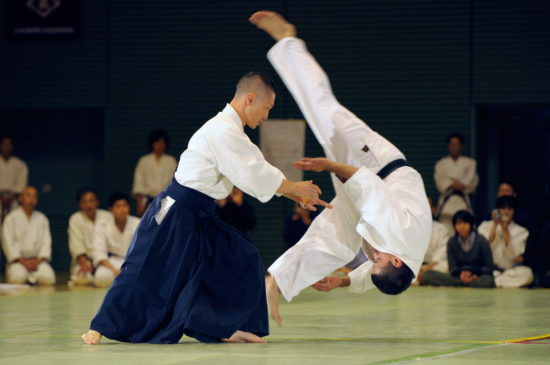 соревнование по айкидо