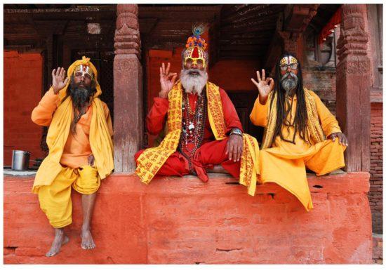 Индийские отшельники