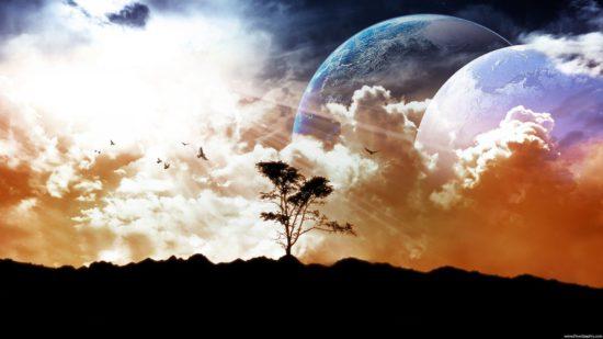 дерево и планета