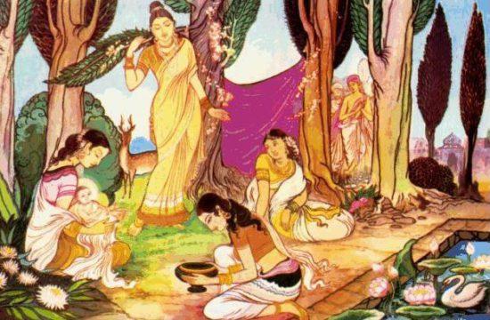 Сидхартха во дворце