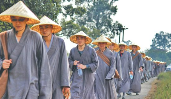 Монахи тхьен
