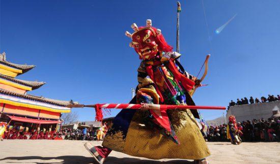 Тибет праздник