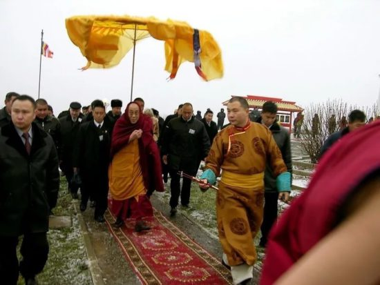 Приезд Далай Ламы