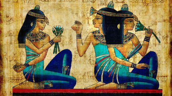 Женщины в Египте