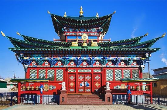 буддийский храм в Бурятии