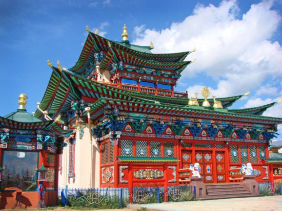 Храм в Бурятии