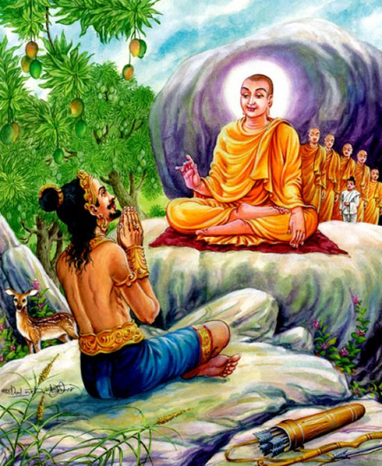 Принятие буддизма