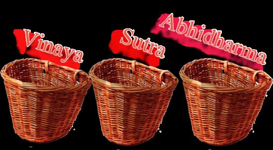 три корзины