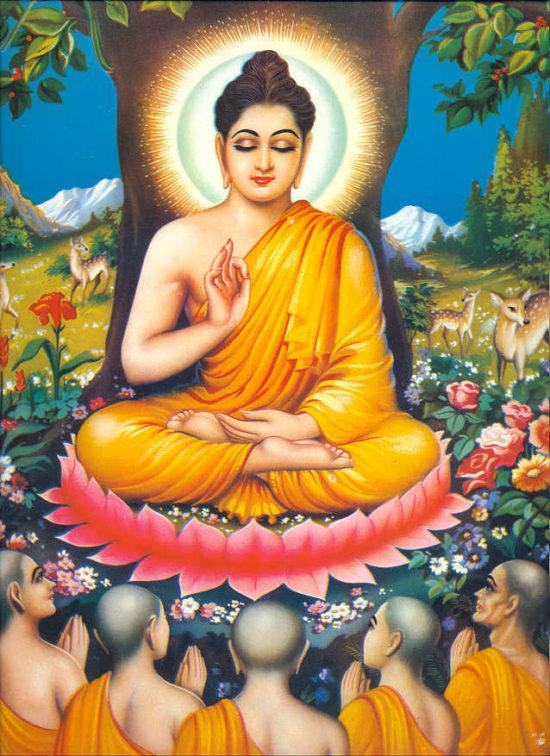 Яшодхара в медитации