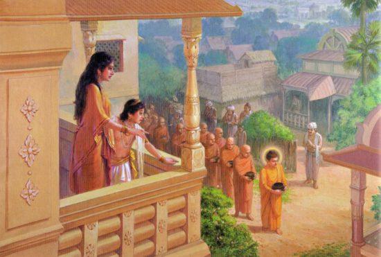 Яшодхара с сыном