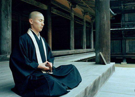 медитация монастыре