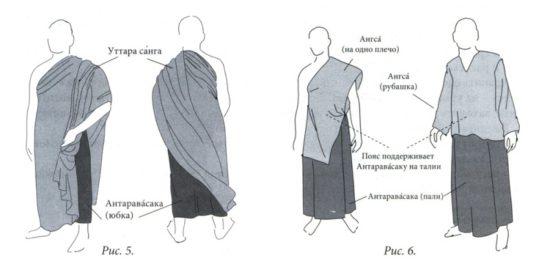 Антаравасака, уттара сага