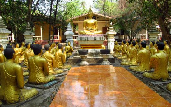 буддийские стату