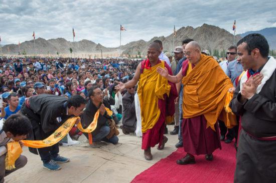 Далай Лама в Индии