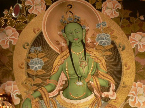 Богиня Ваджраяны