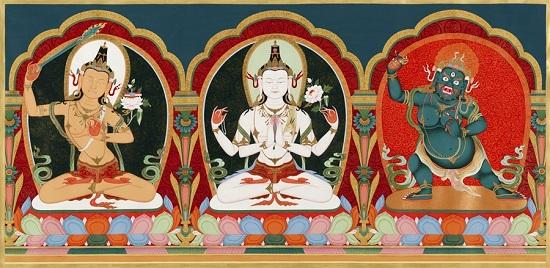 три божества