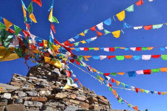 тибетские ритуальные шарфы