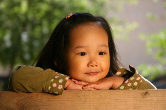 девочка кореянка