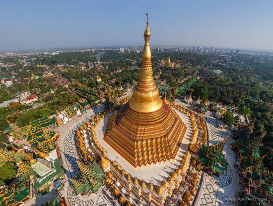 ступа в Бирме