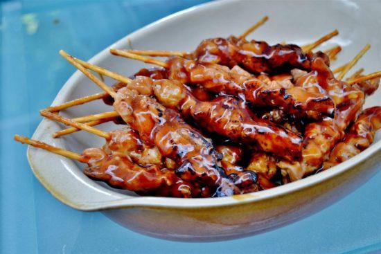шашлык из мяса в японии