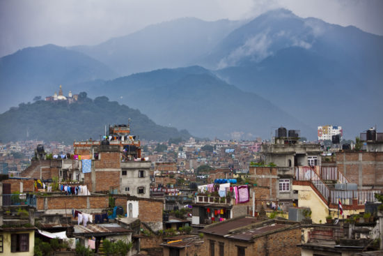 дома и природа в Непале