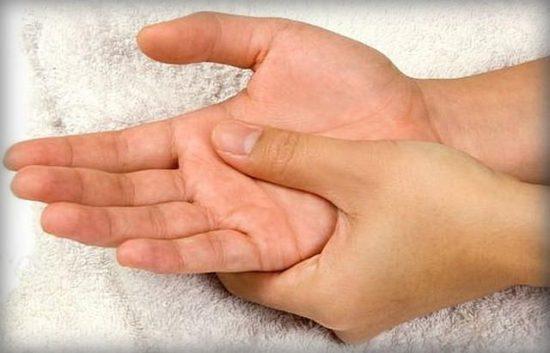 массаж руками