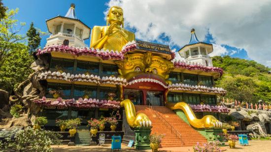 Храм в Шри Ланке