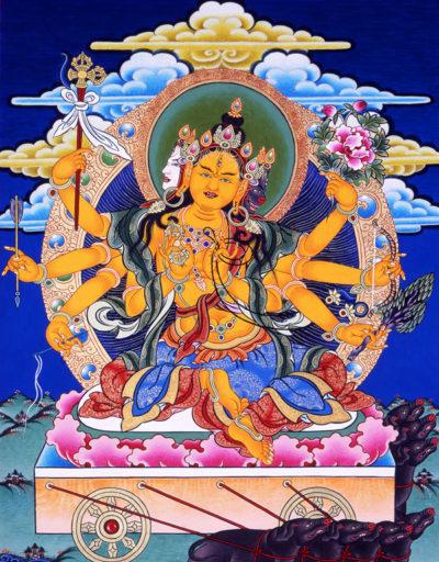 божество тибетское