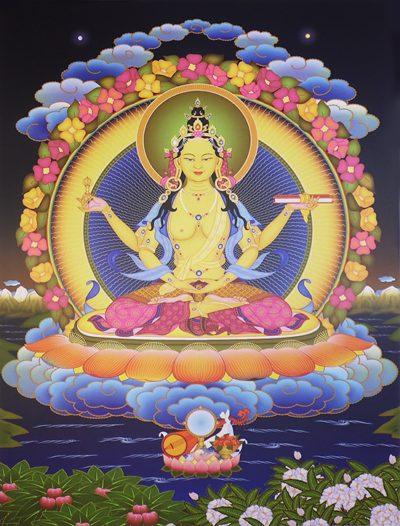 Женская ипостась изначального будды