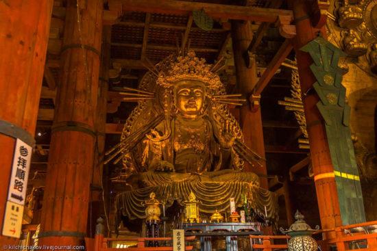 Статуя в Храме Тодайдзи