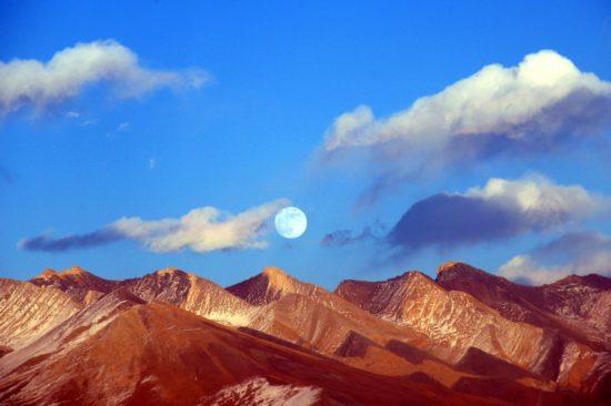Хребты Тибета