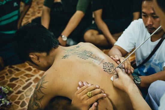 татуировка в Тайланде
