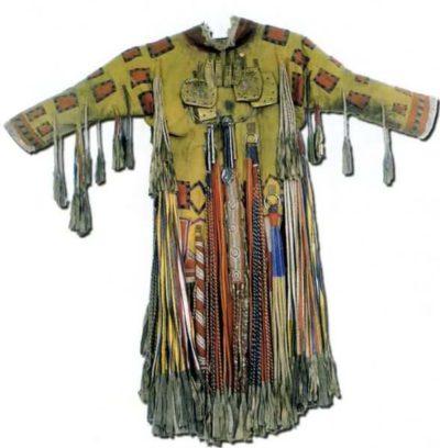 шаманский костюм