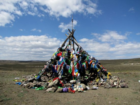 ритуальная куча камней