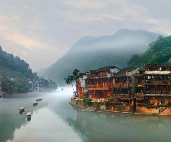 начало реки Янцзы