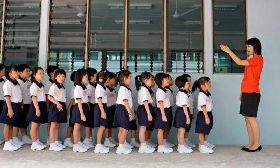 Дети на занятиях
